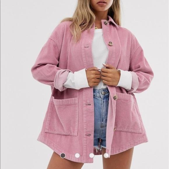 ASOS Jackets & Blazers - 👚NWT! ASOS Dusty Rose Corduroy Jacket